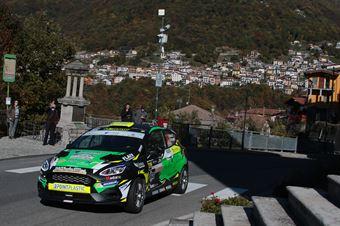 MASSA VINCENZO  D ALESSANDRO DANIEL, FORD FIESTA R2B #39, CAMPIONATO ITALIANO WRC