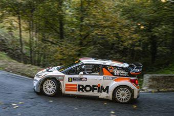 Luca Pedersoli Anna Tomasi, Citroen DS3 WRC #2, CAMPIONATO ITALIANO WRC