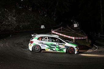 PEDERZANI RICCARDO BATTAGLIA LINO, VOLKSWAGEN POLO R5 #22, CAMPIONATO ITALIANO WRC
