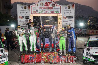 Podio finale                               , CAMPIONATO ITALIANO WRC