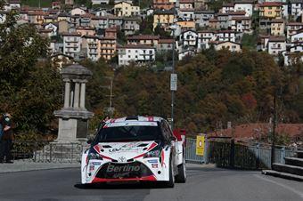 PORRO PIETRO GARAVAGLIA PAOLO, TOYOTA YARIS N5 #27, CAMPIONATO ITALIANO WRC