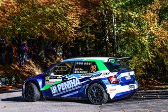 RE FELICE BARIANI MARA, SKODA FABIA R5 #18, CAMPIONATO ITALIANO WRC