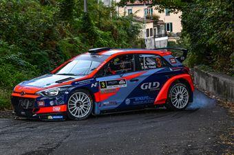 Luca Rossetti Manuel Fenoli, Hyundai i20 R5 #3, CAMPIONATO ITALIANO WRC