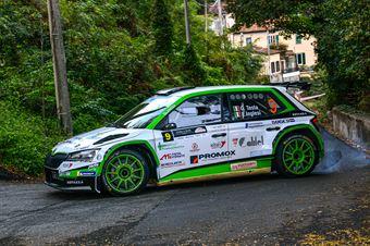 Giuseppe Testa Emanuele Inglesi, Skoda Fabia R5 #9, CAMPIONATO ITALIANO WRC