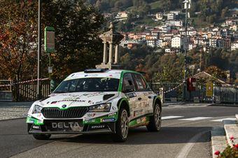TESTA GIUSEPPE INGLESI EMANUELE, SKODA FABIA R5 #9, CAMPIONATO ITALIANO WRC