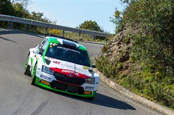 Andrea Carrella, Elia De Guio(Skoda Fabia Evo R5 #2, MS Munaretto), CAMPIONATO ITALIANO WRC