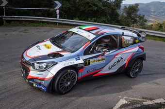 Luigi Fontana, Giovanni Agnese(Hyundai i20, Bluthunder Racing Italy), CAMPIONATO ITALIANO WRC