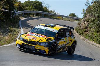 Ivan Ferrarotti, Fabio Grimaldi(Skoda Fabia R5 #9, Movisport), CAMPIONATO ITALIANO WRC