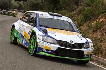 15   Stefano Liburdi, Andrea Colapietro(Skoda Fabia R5 #15, MS Munaretto), CAMPIONATO ITALIANO WRC
