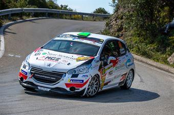 Alex Lorenzato, Carlo Guadagnin(Peugeot 208 #48, La Superba), CAMPIONATO ITALIANO WRC
