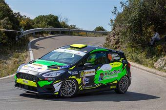 Vincenzo Massa, Daniel D'Alessandro(Ford Fiesta Rally4 #49), CAMPIONATO ITALIANO WRC