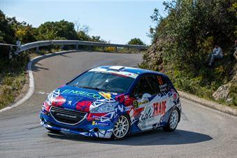 Sara Micheletti, Giancarla Guzzi(Peugeot 208 #51), CAMPIONATO ITALIANO WRC