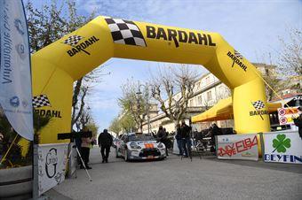 Partenza Gara, CAMPIONATO ITALIANO WRC