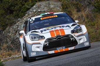 5Luca Pedersoli, Anna Tomasi(Citroen DS3 #5), CAMPIONATO ITALIANO WRC