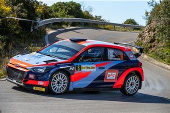 Pedro, Emanuele Baldaccini(Hyundai i20 #6), CAMPIONATO ITALIANO WRC