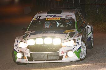 22   Corrado Pinzano, Marco Zegna(Skoda Fabia Evo R5 #22, New Driver's Team), CAMPIONATO ITALIANO WRC