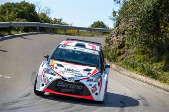Pietro Porro, Alberto Contini(Toyota Yaris N5 #36, Bluthunder Racing Italy), CAMPIONATO ITALIANO WRC