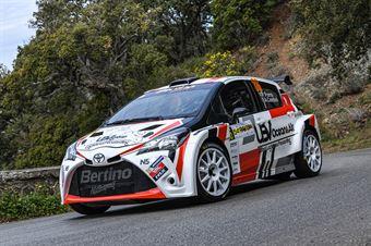 36   Pietro Porro, Alberto Contini(Toyota Yaris N5 #36, Bluthunder Racing Italy) , CAMPIONATO ITALIANO WRC