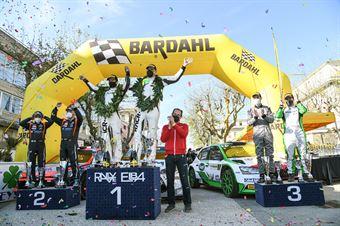 Premiazione, CAMPIONATO ITALIANO WRC