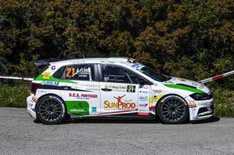 21   Salvatore Riolo, Alessandro Floris(Volkswagen Polo R5 #21, CST Sport), CAMPIONATO ITALIANO WRC