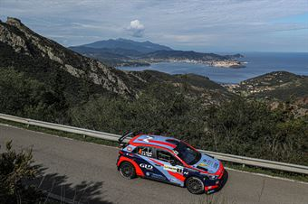 Luca Rossetti, Manuel Fenoli(Hyundai i20 #4, CAMPIONATO ITALIANO WRC