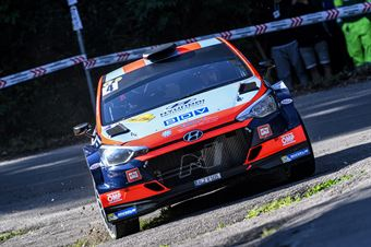 4Luca Rossetti, Manuel Fenoli(Hyundai i20 #4), CAMPIONATO ITALIANO WRC