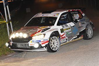 11   Giuseppe Testa, Giulia Zanchetta(Skoda Fabia R5 #RO Racing), CAMPIONATO ITALIANO WRC