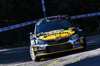 23   Andrea Volpi, Michele Maffoni(Skoda Fabia R5 #23, Proracing) , CAMPIONATO ITALIANO WRC