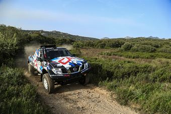 Andrea Castagnera Denis Dorigo, Nissan Navarra #4, , CAMPIONATO ITALIANO CROSS COUNTRY E SSV