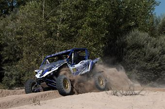Valentino Rocco   Pietro Ometto,  Yamaha YXZ 1000 TM2 #551, CAMPIONATO ITALIANO CROSS COUNTRY E SSV