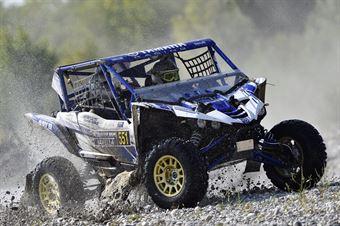 Valentino Rocco   Pietro Ometto, Yamaha YXZ 1000 TM2 #551 , CAMPIONATO ITALIANO CROSS COUNTRY E SSV