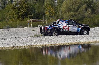 Andrea Castagnera, Denis Dorigo, Nissan Navara T1 #501 , CAMPIONATO ITALIANO CROSS COUNTRY E SSV