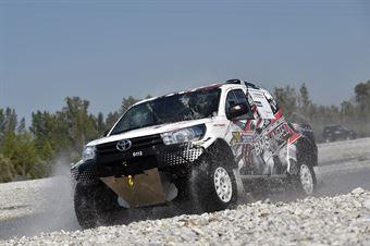 Evangelos Bersis, Panagiotis Kalfas, Toyota Hilux T1 #210, CAMPIONATO ITALIANO CROSS COUNTRY E SSV