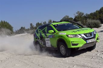 Patricia Brochocka, Grzegorz Komar, Nissan X Trail TH #704, CAMPIONATO ITALIANO CROSS COUNTRY E SSV