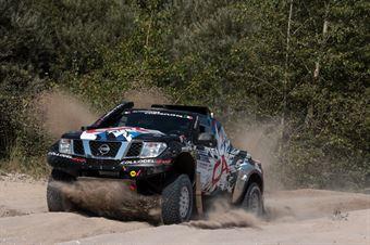 Andrea Castagnera, Denis Dorigo, Nissan Navara T1 #501, CAMPIONATO ITALIANO CROSS COUNTRY E SSV