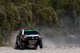 Alrajhi Yazeed Mohammed, Michael Orr, Toyota Hilux T1 #201, CAMPIONATO ITALIANO CROSS COUNTRY E SSV