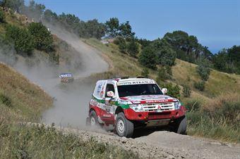Alessandro Bertuzzi, Angelo Mirolo, Mitsubishi Pajero T1 #307, Jazz Tech Team, CAMPIONATO ITALIANO CROSS COUNTRY E SSV
