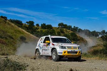 Alfio Bordonaro, Roberto Briani, Suzuki New Gran Vitara T2 #322, CAMPIONATO ITALIANO CROSS COUNTRY E SSV