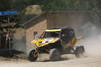 Fabio Braghè, Mauro Gentilotti, Yamaha YXZ 1000R TM2 #318, CAMPIONATO ITALIANO CROSS COUNTRY E SSV