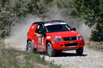 Mauro Cantarello, Francesco Facile, Suzuki New Gran Vitara T2 #325, CAMPIONATO ITALIANO CROSS COUNTRY E SSV