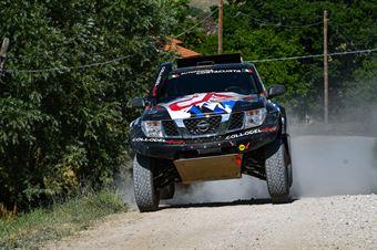 Andrea Castagnera, Denis Dorigo, Nissan Navara T1 #306, CAMPIONATO ITALIANO CROSS COUNTRY E SSV