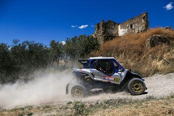 Davide Catania, Fabio Salis, Yamaha YXZ 1000T TM1 #315, CAMPIONATO ITALIANO CROSS COUNTRY E SSV