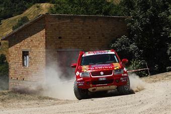 Chinti Marino Gambazza, Santo Triolo, Suzuki New Gran Vitara T2 #323, CAMPIONATO ITALIANO CROSS COUNTRY E SSV