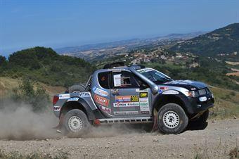 Riccardo Colombo, Massimiliano Catarsi, Mitsubishi L200 T1 #308, R Team, CAMPIONATO ITALIANO CROSS COUNTRY E SSV
