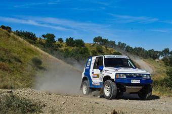 Giovanni Farina, Francesco Farina, Suzuki Vitara V6 TH1 #327, CAMPIONATO ITALIANO CROSS COUNTRY E SSV