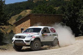 Emilio Ferroni, Daniele Fiorini, Suzuki Proto Gran Vitara T1 #309, CAMPIONATO ITALIANO CROSS COUNTRY E SSV