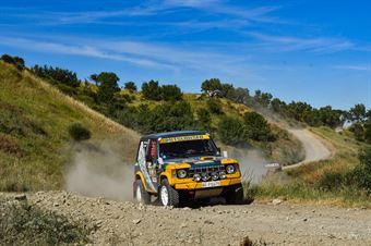Maurizio Galeotti, Michele Pontini, Mitsubishi Pajero TH1 #331, CAMPIONATO ITALIANO CROSS COUNTRY E SSV