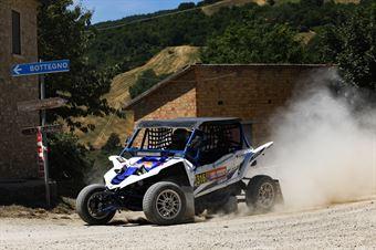 Sebastian Gjezi, Roberto Marzocco, Yamaha YXZ 1000R TM2 #316, CAMPIONATO ITALIANO CROSS COUNTRY E SSV