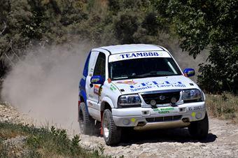 Samuele Lelli, Gilberto Menetti, Suzuki Gran Vitara TH1  #326, CAMPIONATO ITALIANO CROSS COUNTRY E SSV