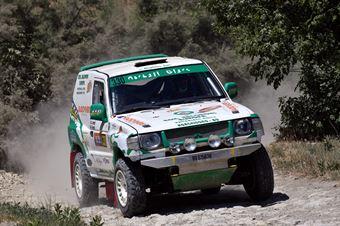 Lorenzo Lorenzini, Erika Lorenzini, Mitsubishi Pajero TH1 #330, CAMPIONATO ITALIANO CROSS COUNTRY E SSV